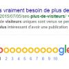 Il vaut mieux être 10ème, sur un résultat Google, que 8 ou 9ème !