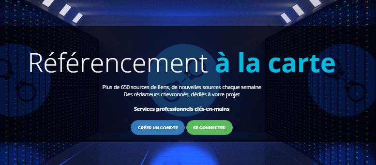 Page d'accueil de soumettre.fr